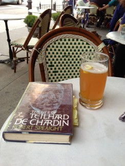 Teilhard and Blue Moon:  Life is Good!
