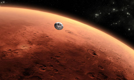Mars Science Laboratory approaches Red Planet