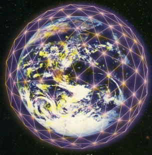 A depiction of the Noosphere
