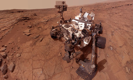 Curiosity Rover Struck Water on Mars