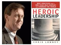 Chris Lowney recognizes Pope Francis as a Heroic Leader in the Jesuit tradition