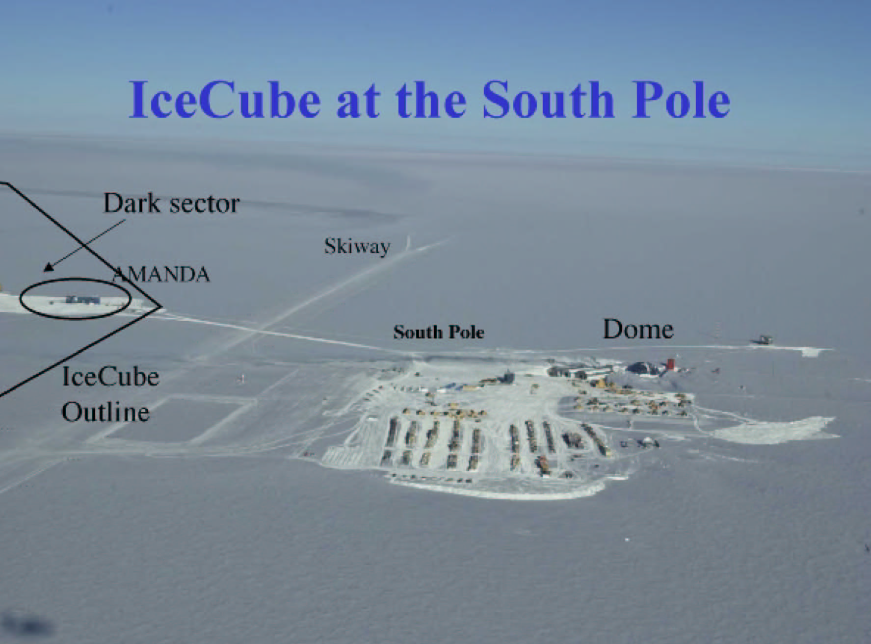 Neutrinos, IceCube, South Pole and Wisconsin | Teilhard de Chardin