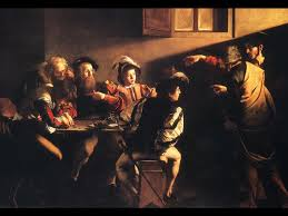 Caravaggio's painting of The Calling of St. Matthew